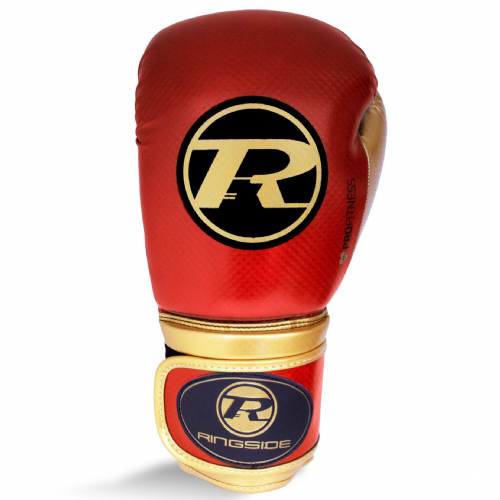 Ringside Pro Fitness Boxing Gloves - Red/Gold